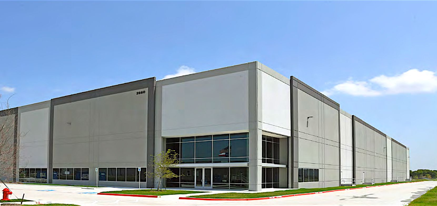 Speedway Logistics Crossing is off S.H. 114 in North Fort Worth.