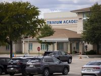 """Trivium Academy started classes Aug. 11, and — in step with most schools in Denton County — did not require students to wear masks but """"strongly"""" urged them."""