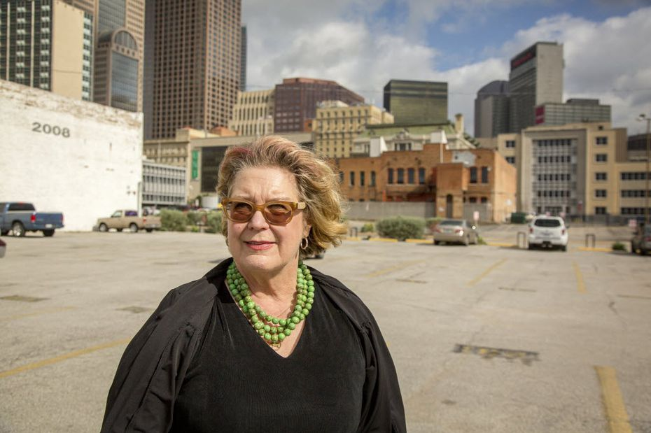 Pamela Nelson, photographed Monday, May 19, 2014 in downtown Dallas. (G.J. McCarthy/The Dallas Morning News)