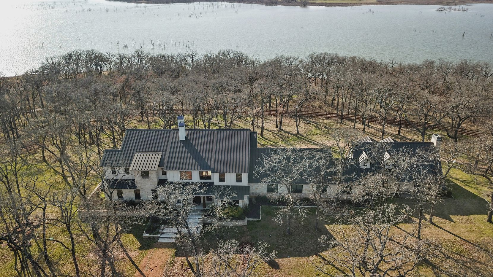 The 13-acre estate at 297 Lake Point is offered at $2.1 million.