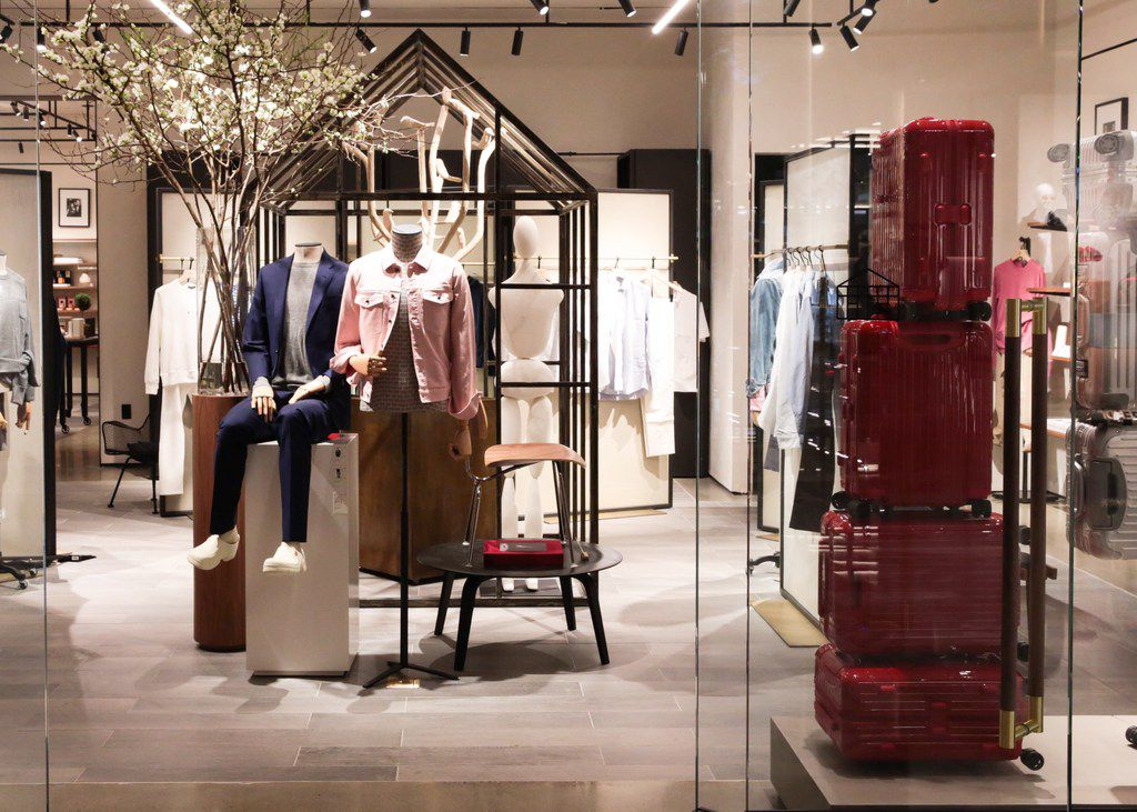 The Conservatory  is a new concept that merges luxury online shopping with physical space.