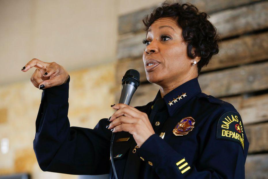 Dallas Police Chief U. Renee Hall