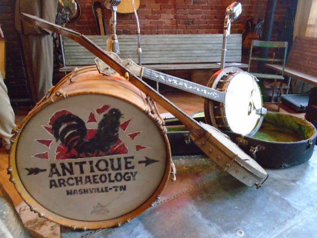 Find deals and rare collectibles at Antique Archaeology in Marathon Village.