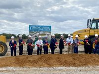 Representatives from Huffines Communities and Mesquite city leaders broke ground Wednesday on Solterra, a 1,500-acre planned community that will add more than 3,000 home to the southeastern sector of the city.