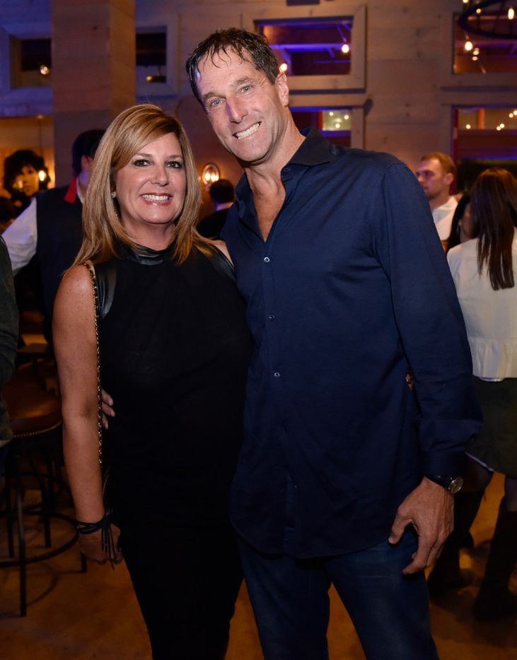 Lisa Lieberman and Steve Lieberman, CEO of The Retail Connection, during a relaunch party for Tillman's Roadhouse restaurant in Bishop Arts, on Tuesday, Jan. 10, 2017 in Dallas. Ben Torres/Special Contributor
