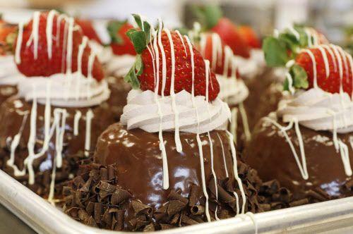 Un mousse de chocolate que se ofrece en Carlo's Bakery en Dallas. La pastelería famosa por Cake Boss abrirá un segundo local.
