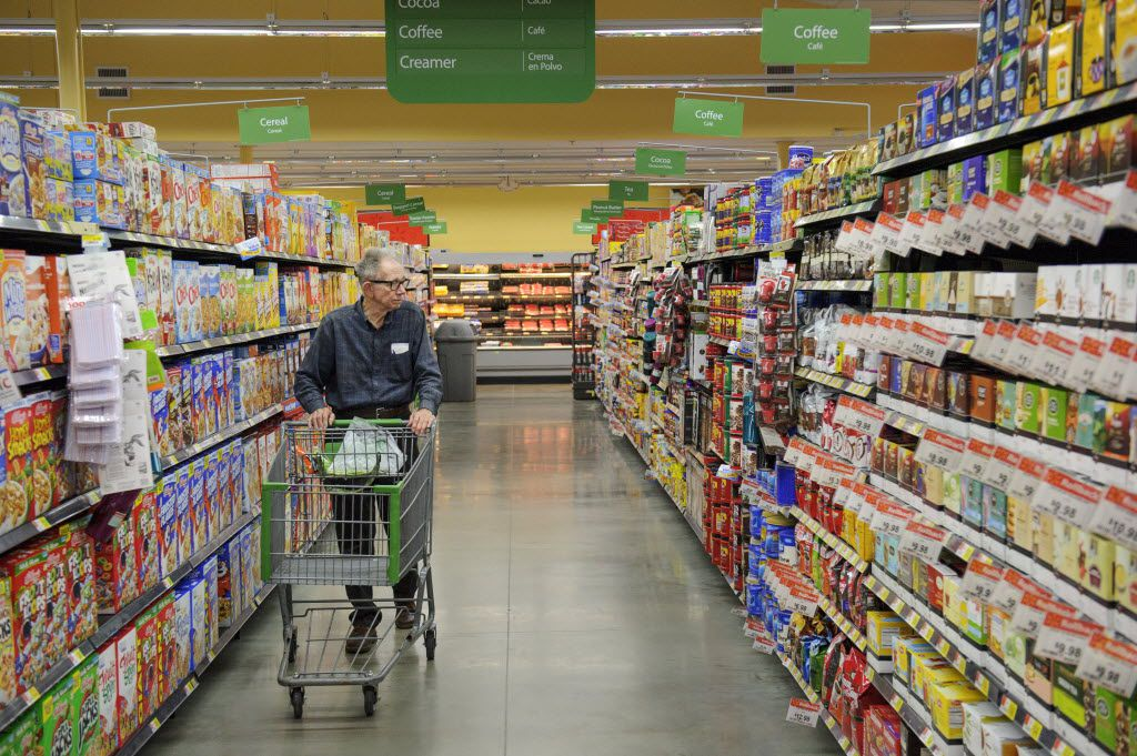 Grocery aisles are full of sugar, salt and fat; the unprocessed, healthier options are on the periphery of the store.