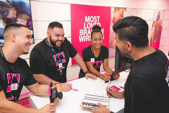 T-Mobile says its commitment to inclusion across race, gender, age, religion, identity and experience drives it forward every day. It says 62% of its staffers are minority employees and 42% are female.