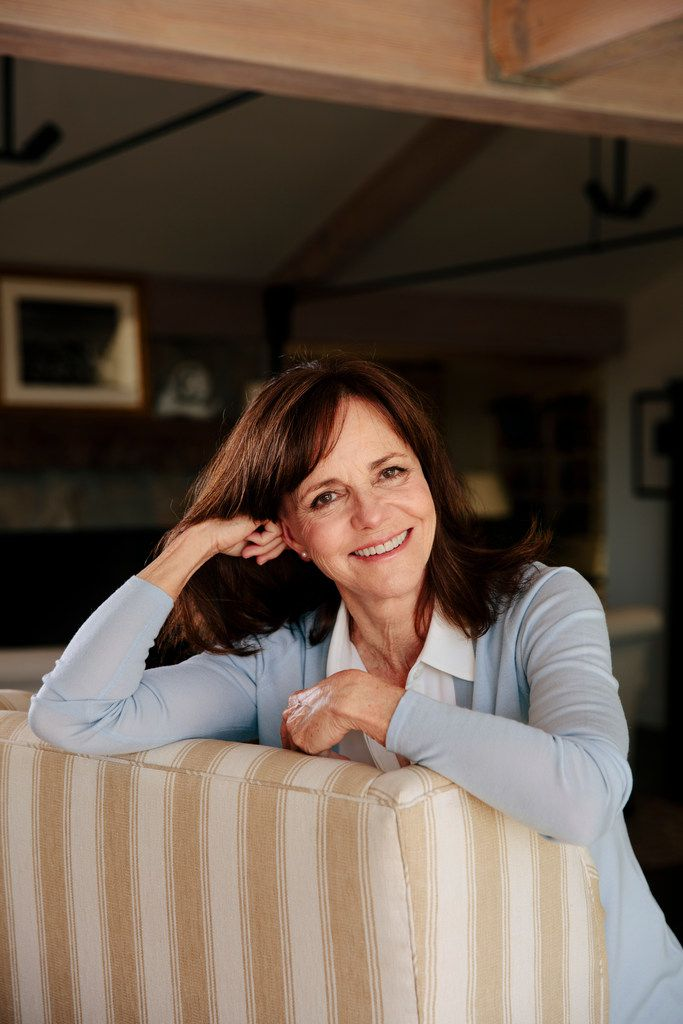 Sally Field  at home in Pacific Palisades, Calif., Aug. 29, 2018.