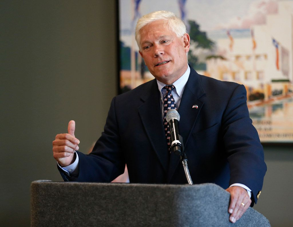 """Rep. Pete Sessions said the tweaked Russia sanctions would impose """"crippling sanctions ... without harming American job creators."""" (Jae S. Lee/Staff Photographer)"""