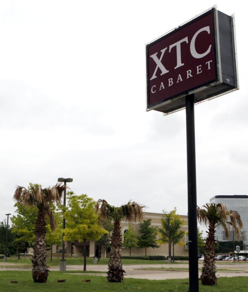 XTC Cabaret is near Regal Row and Interstate 35E.