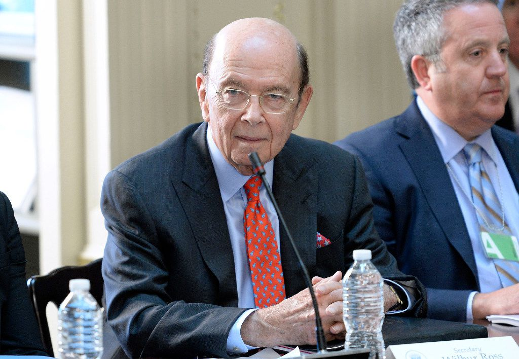 """Commerce Secretary Wilbur Ross has been charged with creating a plan to implement Trump's """"Buy American"""" mandate for pipeline projects. (Olivier Douliery/Abaca Press/TNS)"""