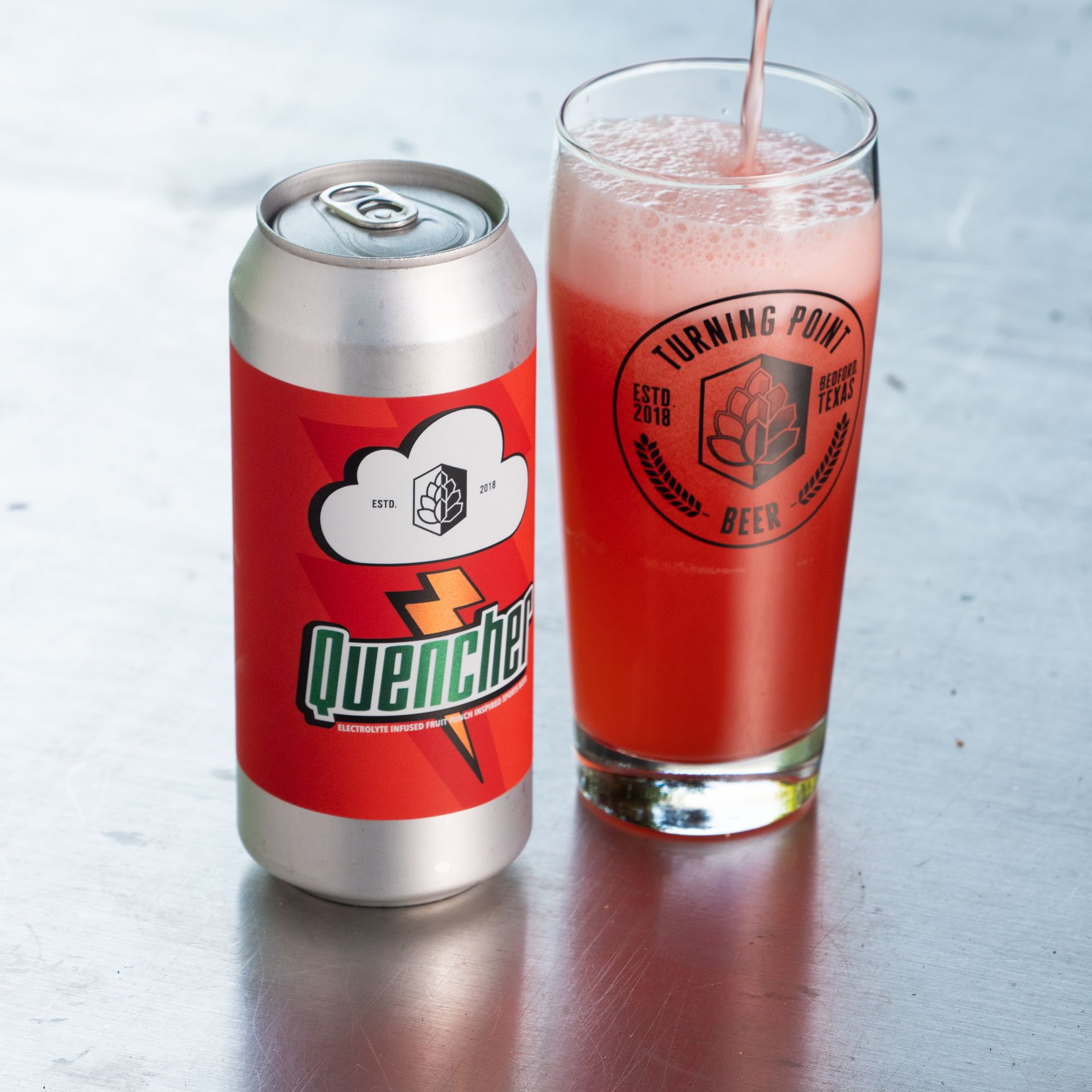 Quencher 'sports beer' from Turning Point Brewery