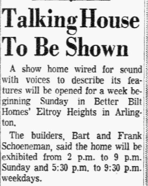 Advertisement published on Feb. 4, 1956.