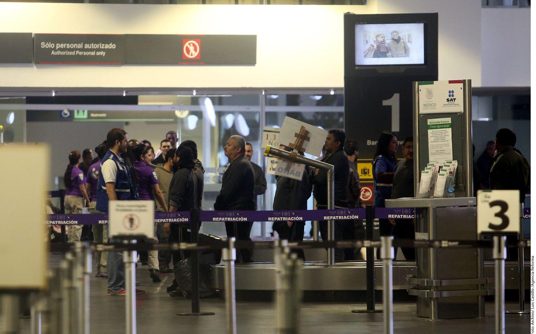 Un estudio del Anuario de Migración y Remesas 2017 revela que el 38.9% de los mexicanos retornados entre 2010 y 2015 no tienen empleo. Foto AGENCIA REFORMA