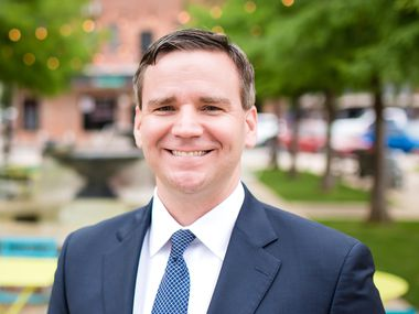 Derrik Gay, a tax attorney and former Marine, is the first Democratic challenger for the 24th Congressional District. The district is currently held by Republican Rep. Beth Van Duyne.