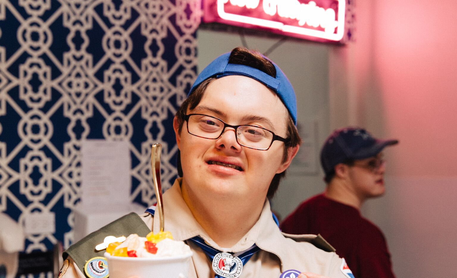 Coleman Jones is a vice president at Howdy Homemade ice cream shop.