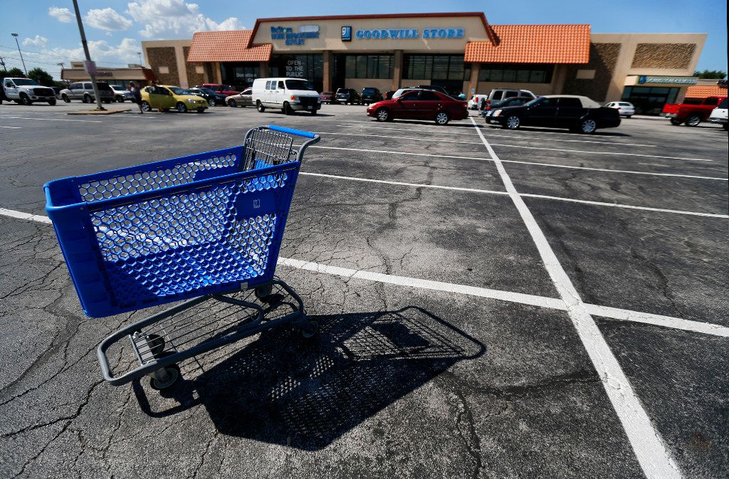 The dated Goodwill Store sits at the high-traffic intersection of Interstate 30 and Belt Line Road in Garland. A plan to turn the bizarre and tattered history of Garland's Interstate 30 corridor into a component of its rebirth gained unanimous City Council approval on Tuesday.