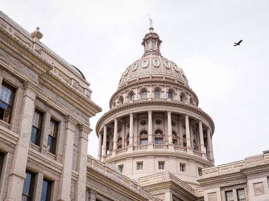 A general view of the Texas Capitol during the 87th Texas legislature on Friday, May 7, 2021, in Austin. (Smiley N. Pool/The Dallas Morning News)