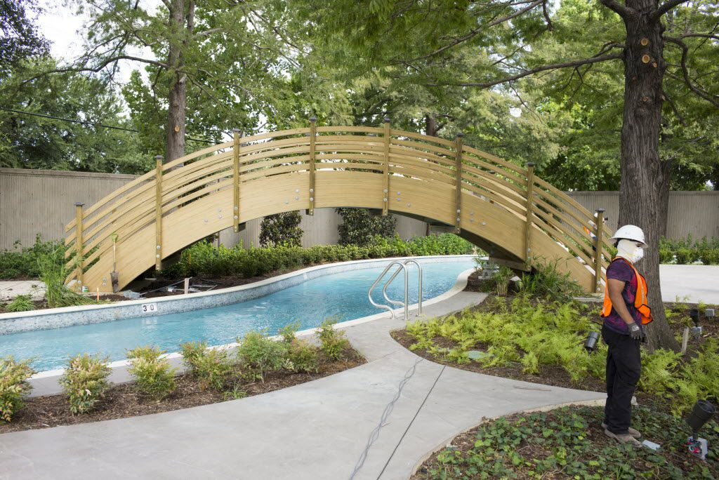 Hilton Anatole's JadeWaters waterpark is opened at 50% capacity.