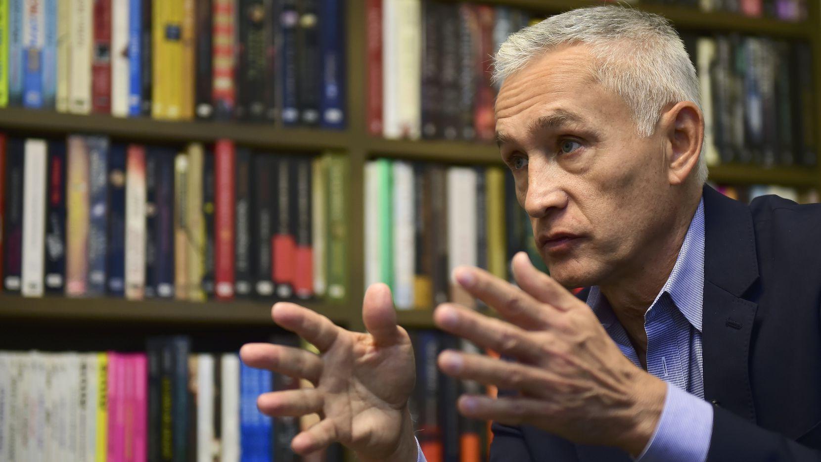 El periodista mexicano Jorge Ramos.