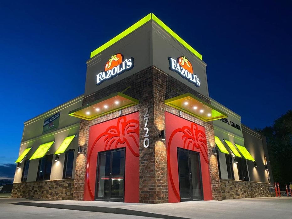 A businessman who lives in Prosper plans to open three Fazoli's drive-through restaurants in northeast Texas by December 2022.