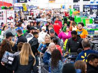 On Black Friday in 2019, shoppers packed a Walmart Supercenter in Bentonville, Ark., in search of deals.