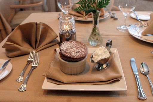 Cacharel Restaurant was known for its chocolate souffle.