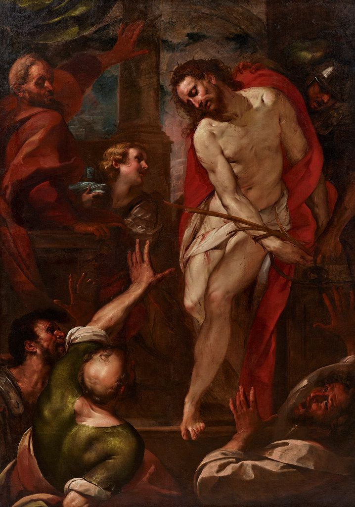 Giulio Cesare Procaccini's Ecce Homo, created circa 1615-1620, is on display at the Dallas Museum of Art.
