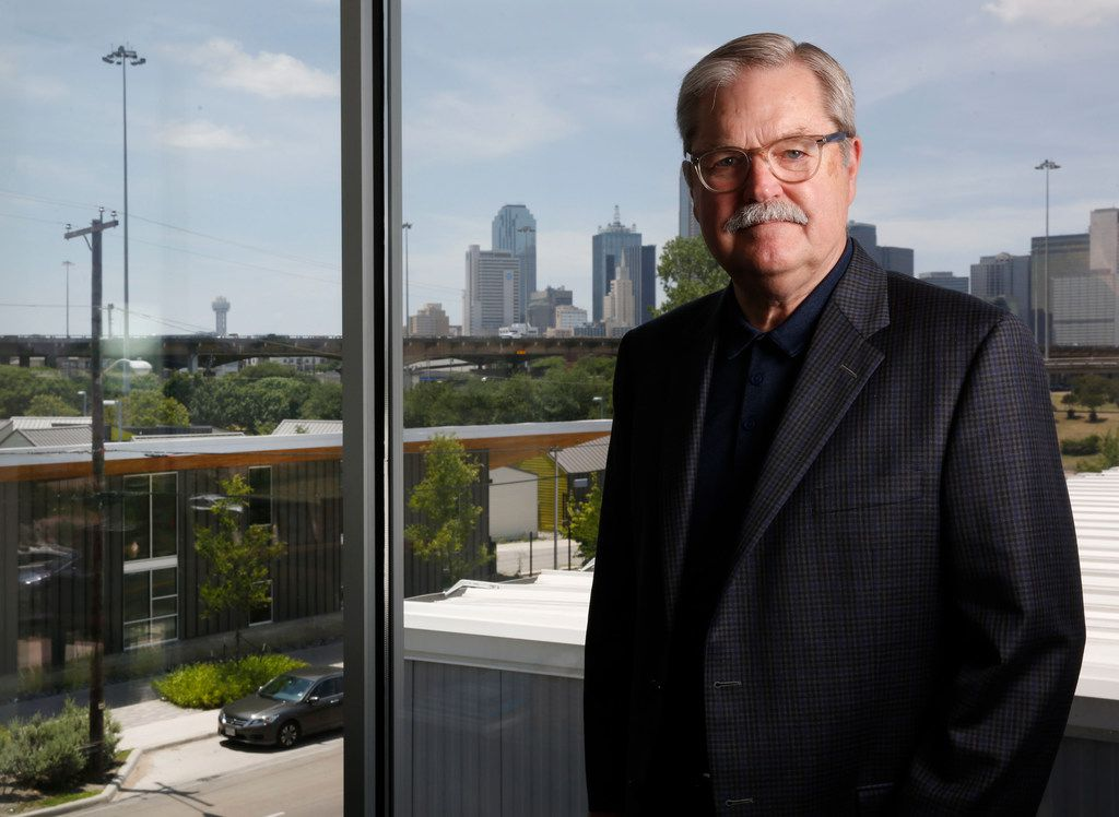 Larry James, CEO of CitySquare, will be the speaker at LIFT's Toast to Literacy. (2018 File Photo/Rose Baca)