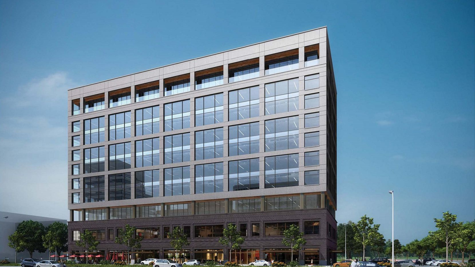 The planned Railhead office tower will have 250,000 square feet.