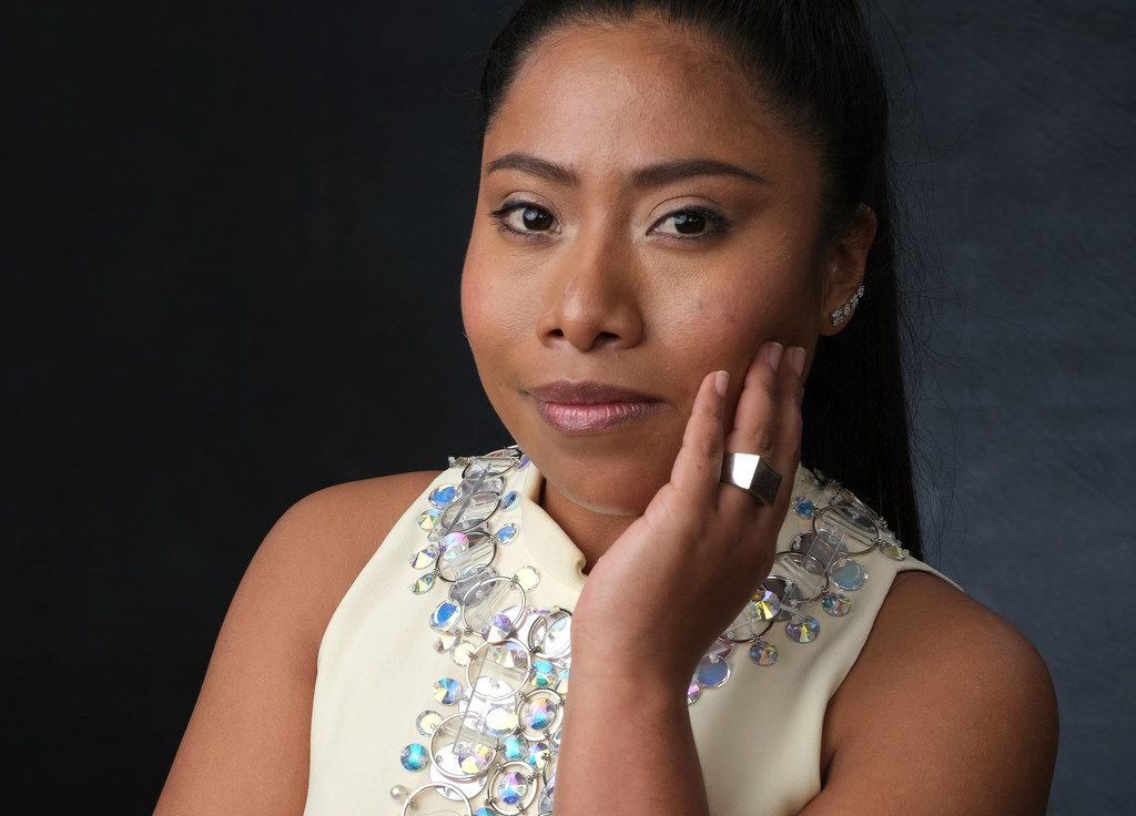 In this February photo, Yalitza Aparicio, nominated for an Oscar for best actress for her role in Roma, poses for a portrait at the 91st Academy Awards Nominees Luncheon in Beverly Hills, Calif. The Oscars will be held on Sunday.
