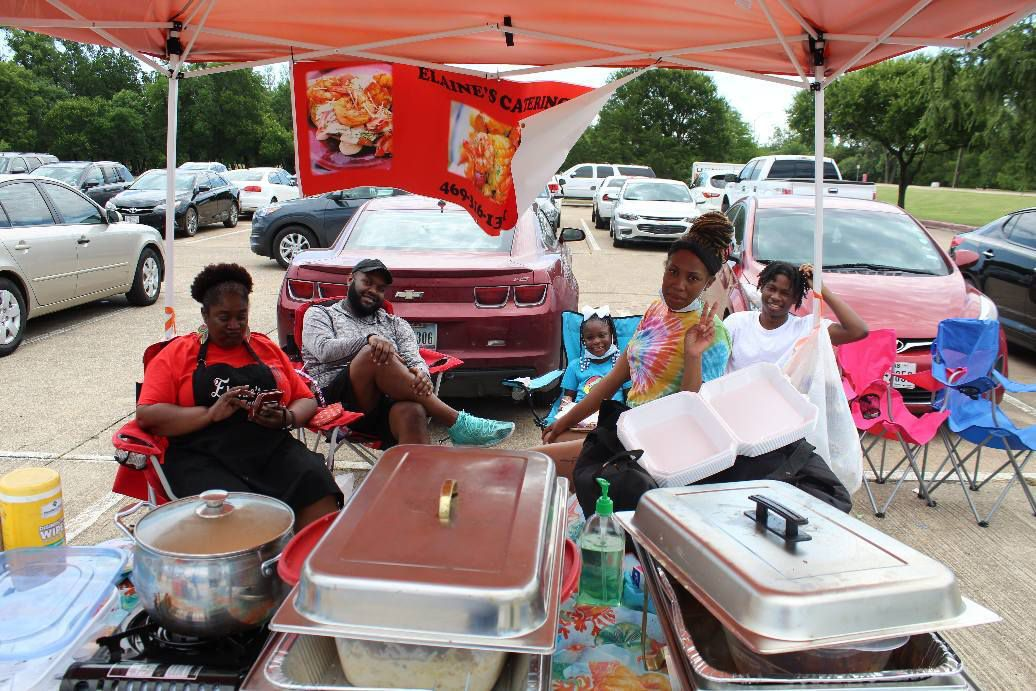 Elaine's Catering was one of the Black-owned, Mesquite-based businesses that came to Mesquite NAACP's inaugural Juneteenth event last year. (Courtesy Emory Blackburn)