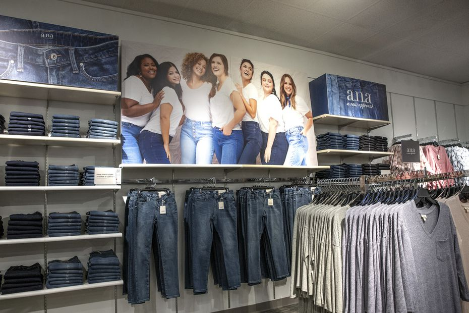 With the a.n.a. relaunch this week, J.C. Penney is putting missy and plus sizes in the same section in 85 stores. That makes it easier for women who often wear sizes of tops and jeans in both departments.