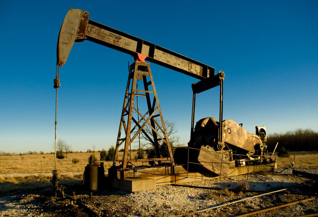 An oil rig at work in Texas. (Anthony Aneese Totah Jr./Dreamstime/TNS)