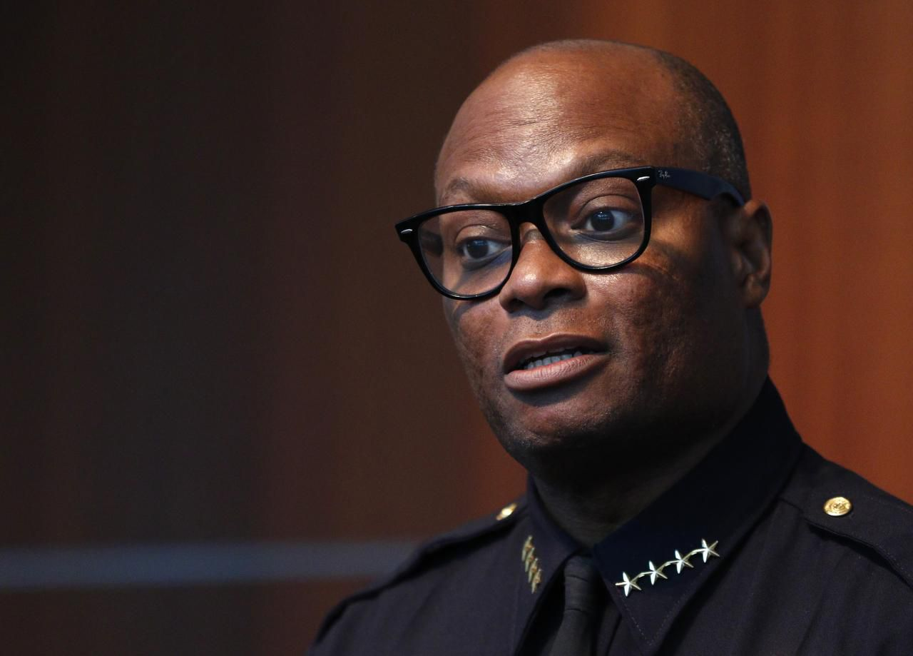 Dallas Police Chief David Brown grew up in Dallas and now lives in the city, not far from police headquarters. But he lived outside the city during part of his career