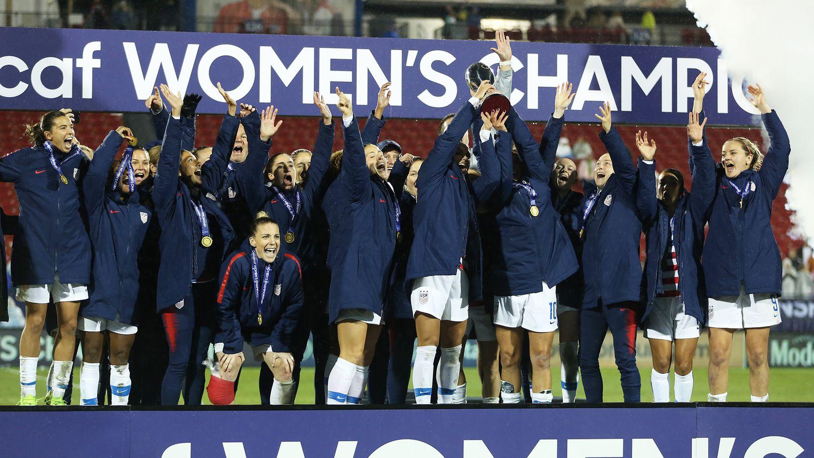 La selección femenina de Estados Unidos ganó el campeonato de Concacaf en Frisco. Foto de Omar Vega para Al Día