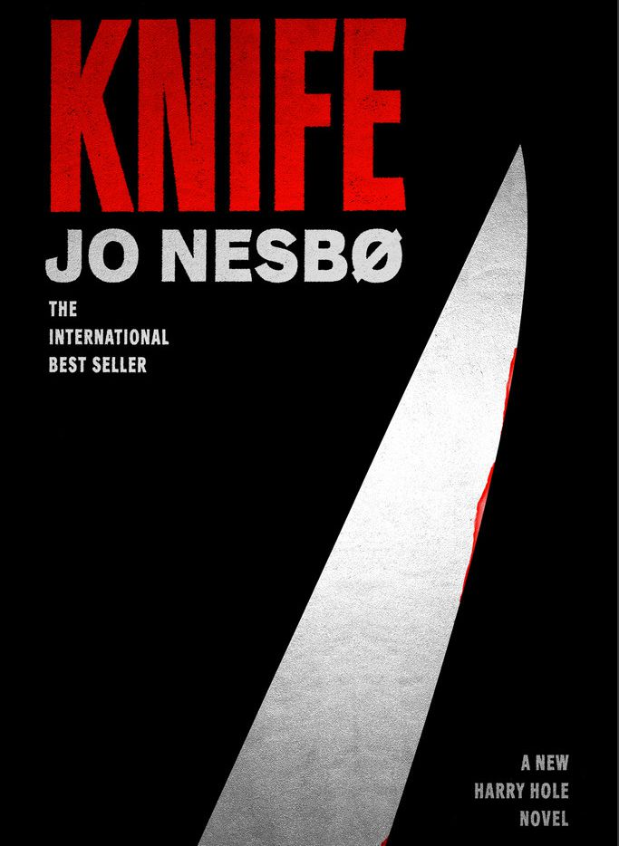 Knife, the 12th Harry Hole novel by crime novelist Jo Nesbo, is in stores now.