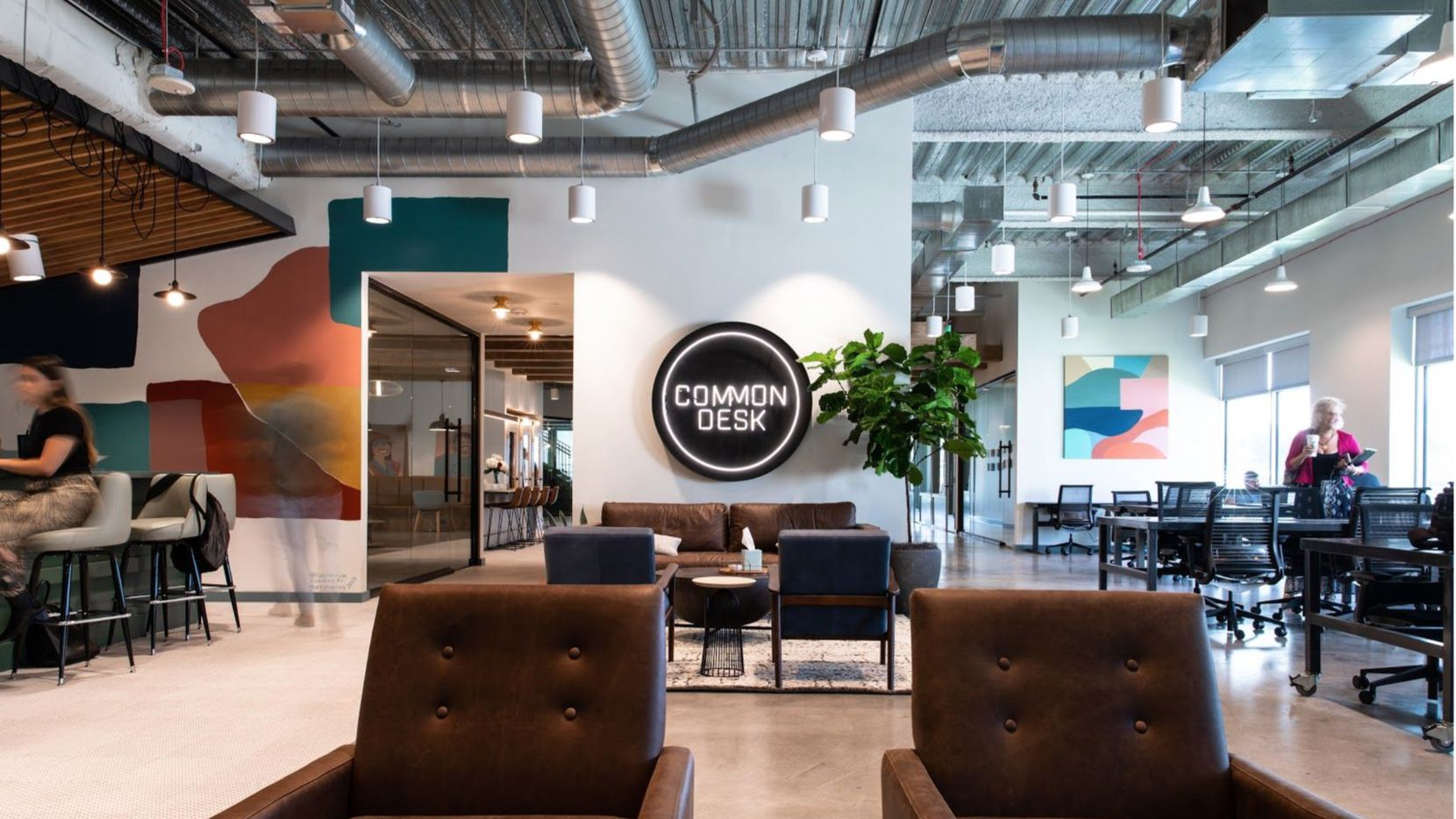 Dallas-based shared office firm Common Desk is keeping most of its workers at home.