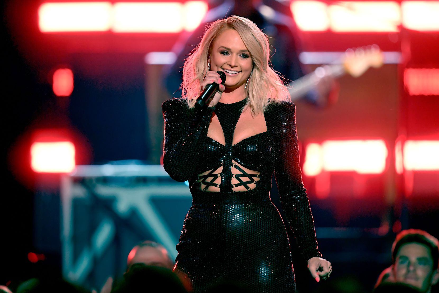 Miranda Lambert performs onstage during the 54th Academy Of Country Music Awards at MGM Grand Garden Arena on April 7, 2019 in Las Vegas, Nevada.