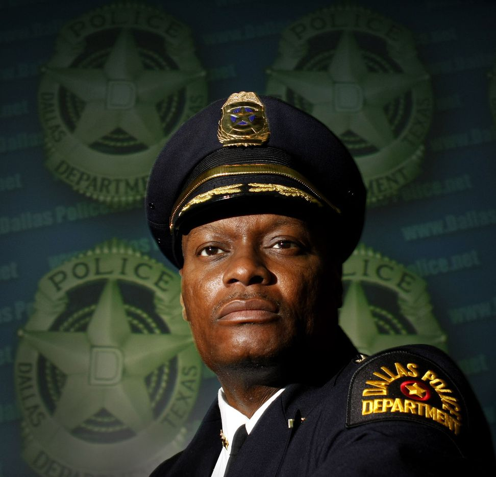 Dallas Police Dept. First Assistant Police Chief David Brown poses for a portrait. City Manager Mary Suhm announced six finalists Monday to replace retiring Police Chief David Kunkle. The group of officers includes three of Kunkle's top brass, including Dallas First Assistant Police Chief David Brown, who has been the department's No. 2 since 2005.