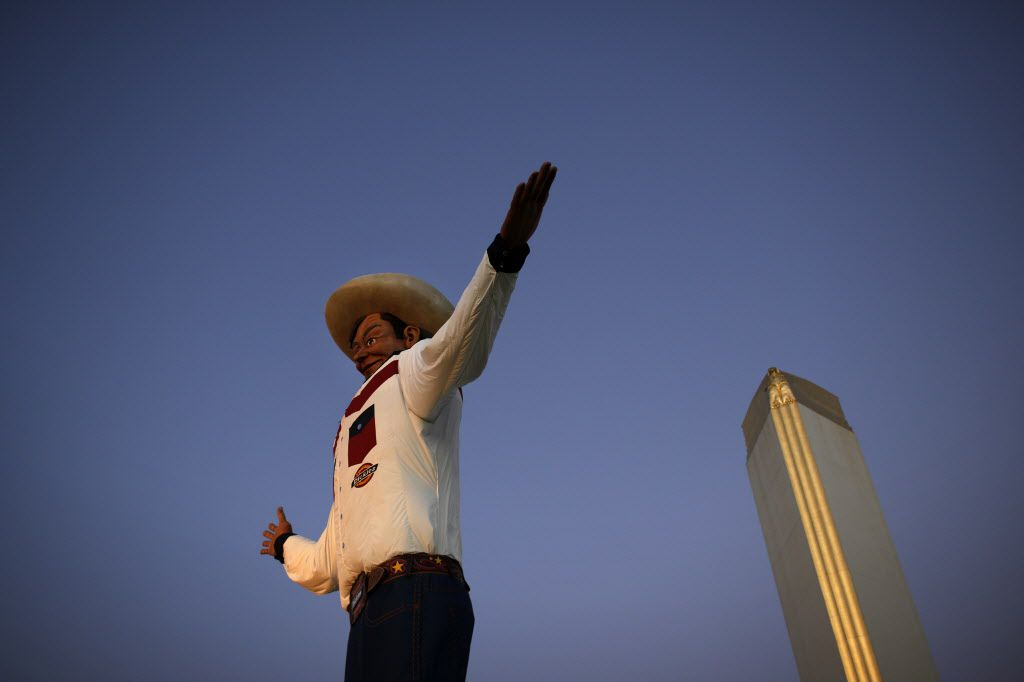The new Big Tex stands tall in 2013.