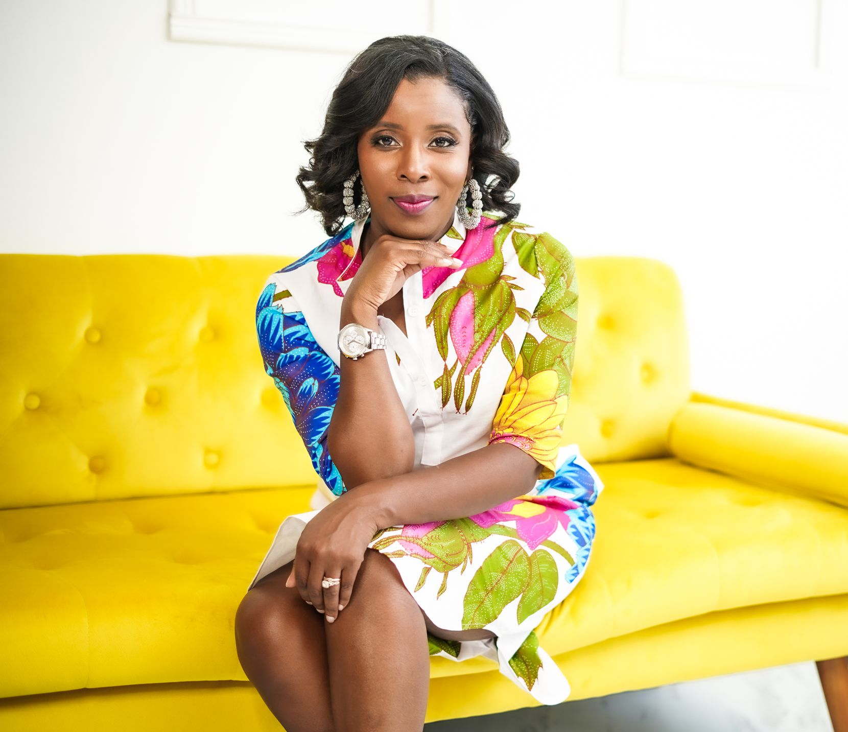 Hope Oriabure-Hunter developed her business, Black-Tie Babysitting, based on the need for child care during social events.