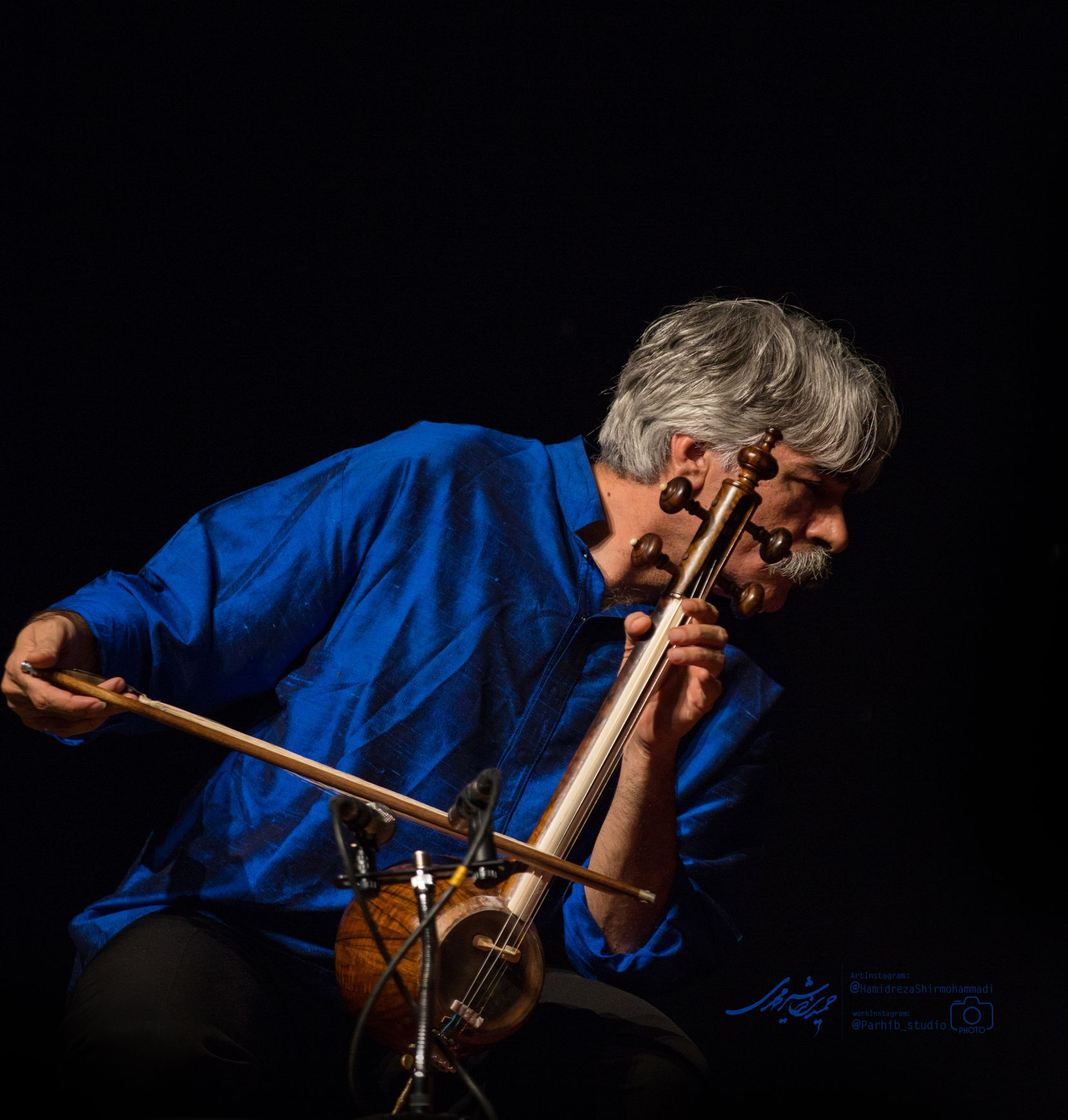 Iranian musician Kayhan Kalhor plays a classical Persian instrument to sold-out concerts.