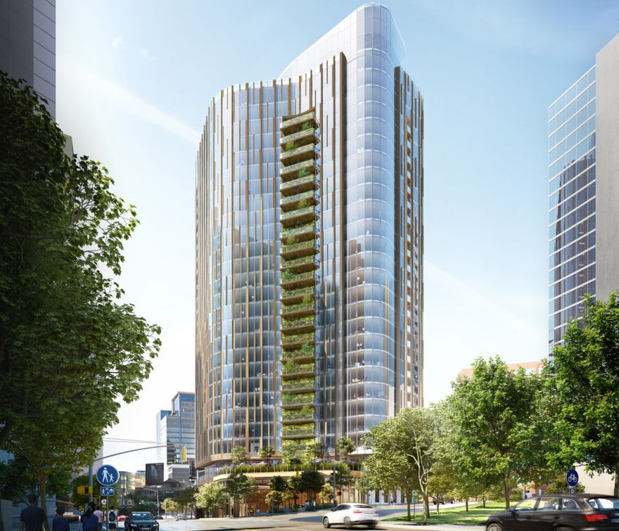 Rastegar has delayed construction of its proposed Uptown high-rise because of the pandemic.