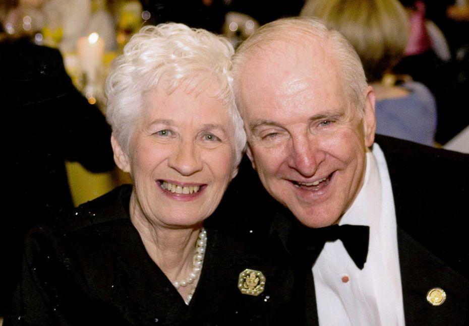 Congressman Sam Johson and his wife Shirley Melton Johnson. (undated file photo)