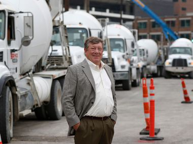 Bill Sandbrook, President & CEO of Euless-based U.S. Concrete, is overseeing one of the company's largest projects to date: The Union Dallas project in Uptown. It's already finished work on Toyota's North American headquarters in Plano and has ongoing jobs at LaGuardia Airport, the World Trade Center complex and Hudson Yards in New York.