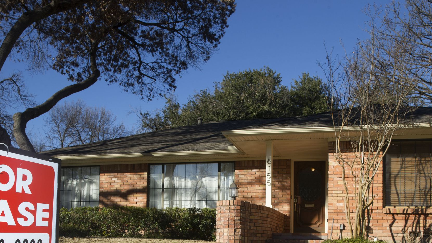 Average single-family home rental costs are up only about 2% in the Dallas area from last year.