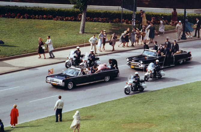 Dallas of the 1960s was recreated for Oliver Stone's 1991 film, 'JFK.'