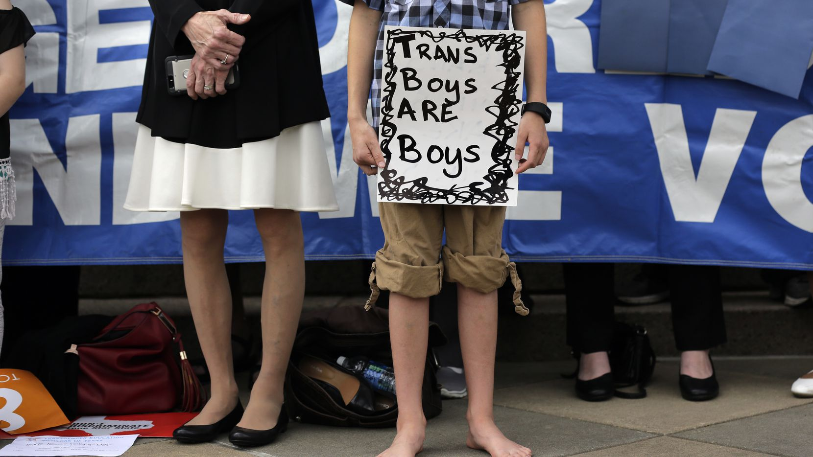 """The Texas Legislature failed to pass a """"bathroom bill"""" that would affect transgender people, but Gov. Greg Abbott has put the issue on the agenda for the special session next month. (AP Photo/Eric Gay)"""